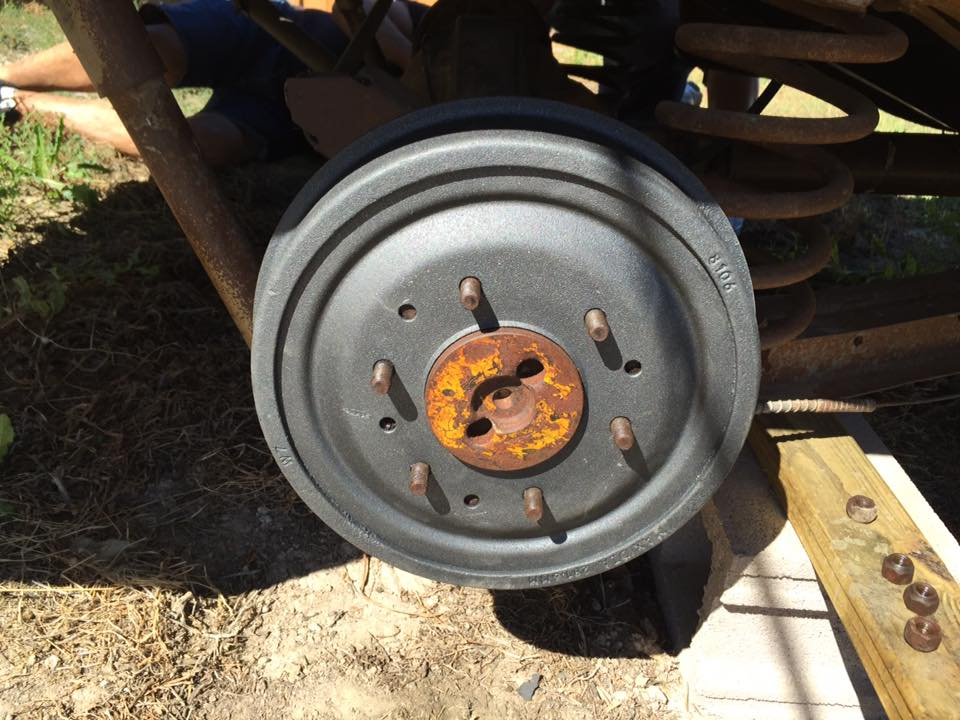 Project 1962 Chevy C10 Swede Update - Drum Brakes, Emergency Brake Knots and Star Wheels