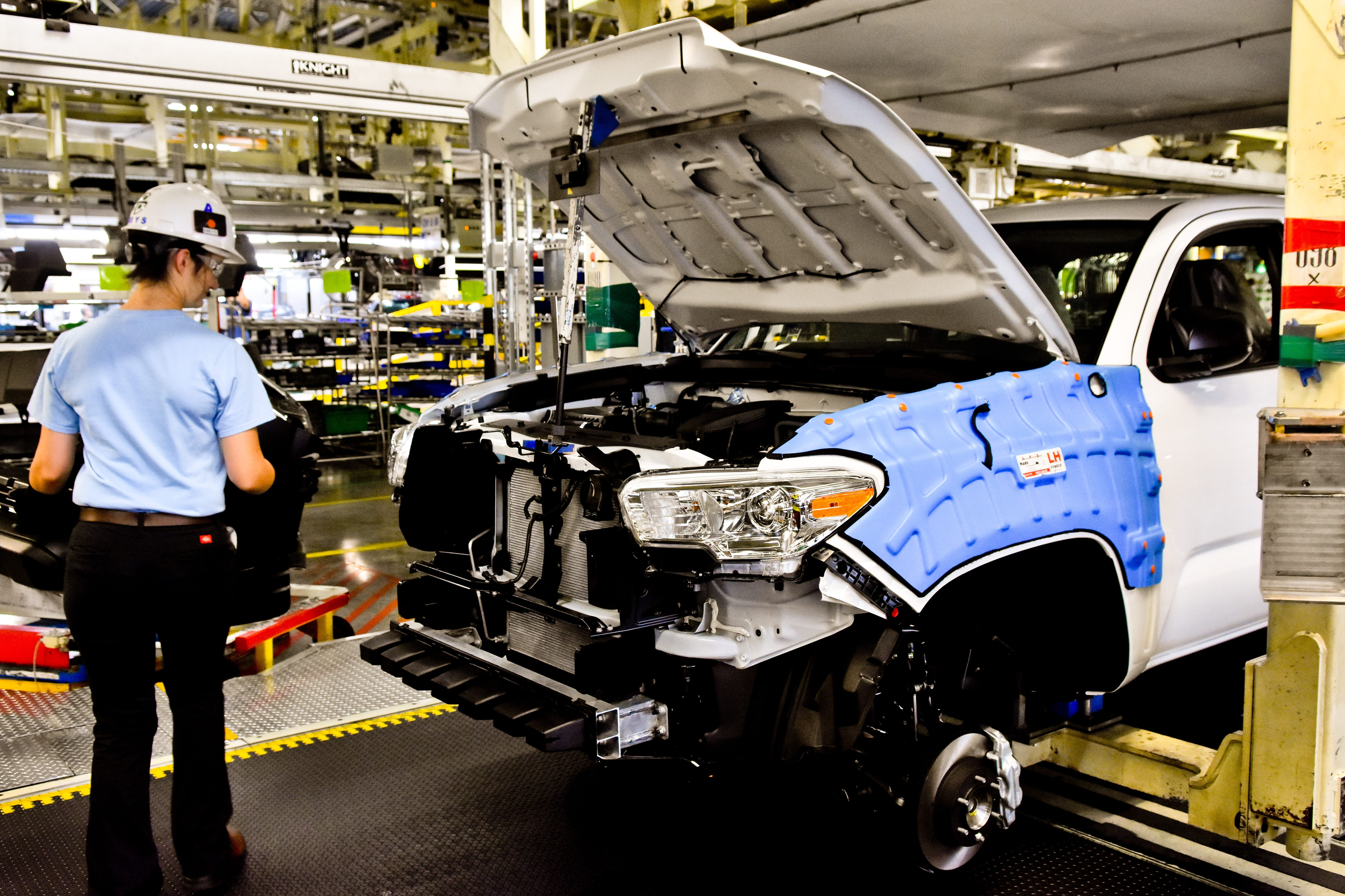 Factory Tour Toyota Motor Manufacturing Texas Plant