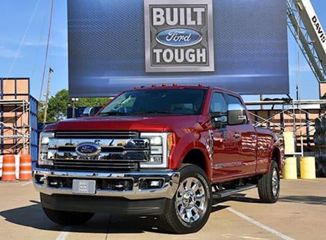2017 Ford Super Duty Trucks Wins 2016 Truck of Texas Award - Other Winners Announced