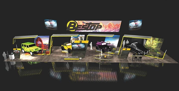 Bestop Brings Outdoor Adventure Indoors at 2016 SEMA Show