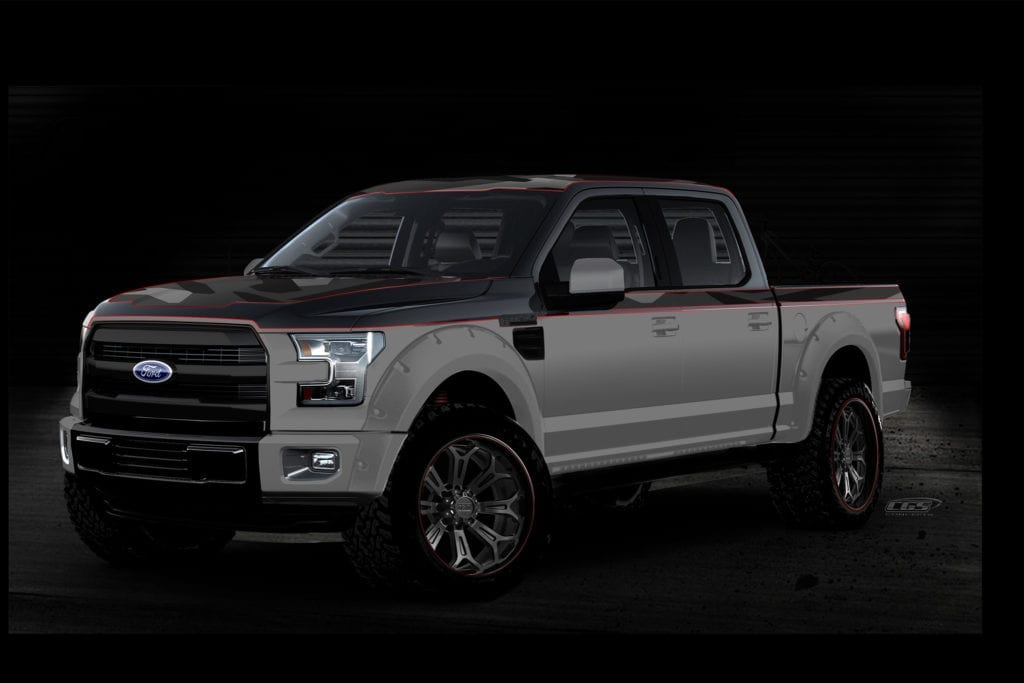 2016 SEMA Preview: Ford F-150 Concept Trucks Are Wicked Cool!