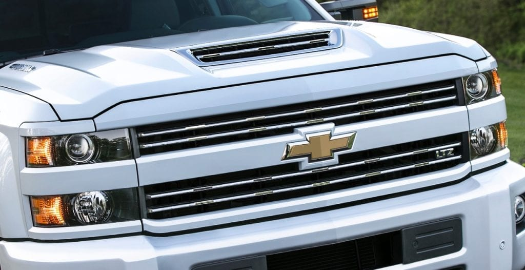 2017 Chevrolet Silverado HD Features New 6.6L Duramax Diesel, 910 lb-ft of Torque