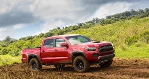 2017 Toyota Tacoma TRD Pro Off-Roading in Hawaii