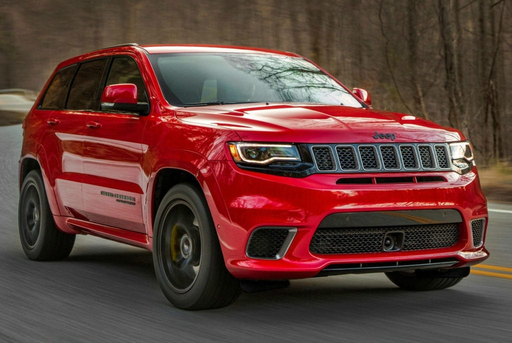 Track Hawk Grand Cherokee >> 11 Best 2017 New York Auto Show Trucks and SUVs