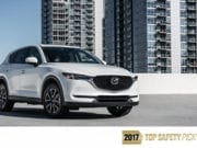 2017 Mazda CX-5 Earns Top Safety Rating, Entire Lineup is Top Safety