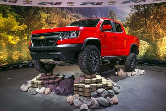 "Speculation: 2019 Chevrolet Colorado ZR2 ""PreRunner"" 2WD Pickup Coming"