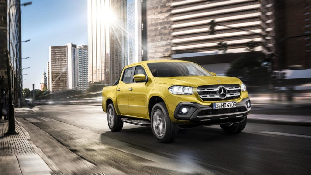 2018 Mercedes-Benz X-Class Pickup Debuts - Luxurious Off-Road Machine