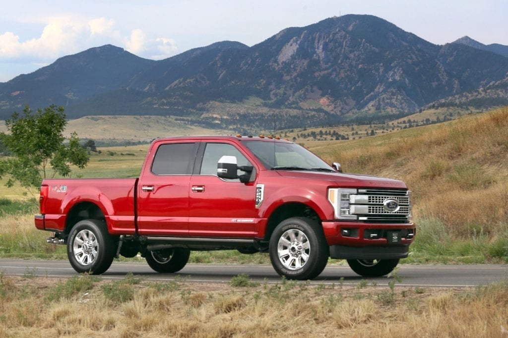 First Drive: New 2017 Ford Super Duty Trucks