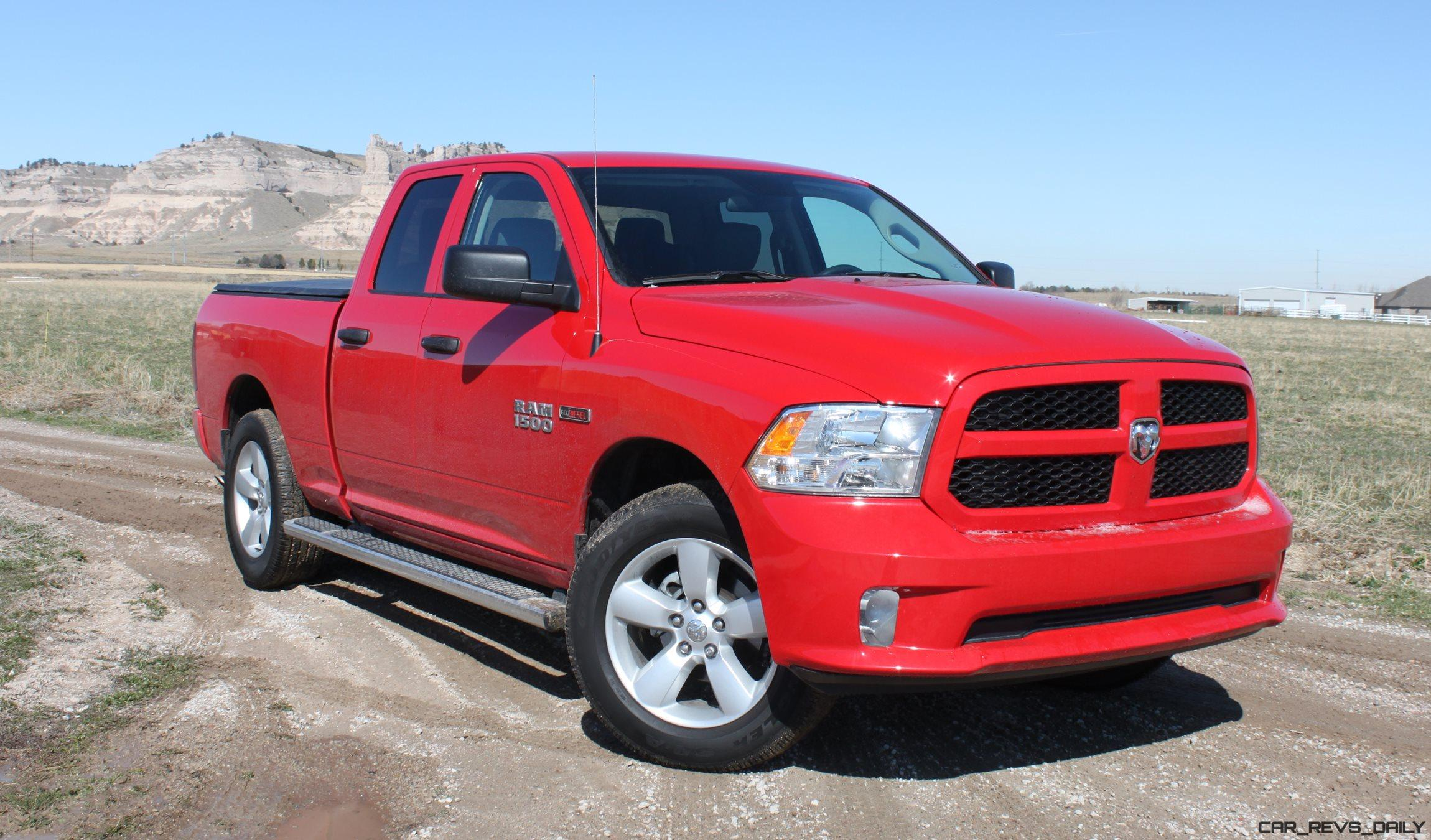 review 2016 ram 150 hfe ecodiesel pickup truck suv talk. Black Bedroom Furniture Sets. Home Design Ideas