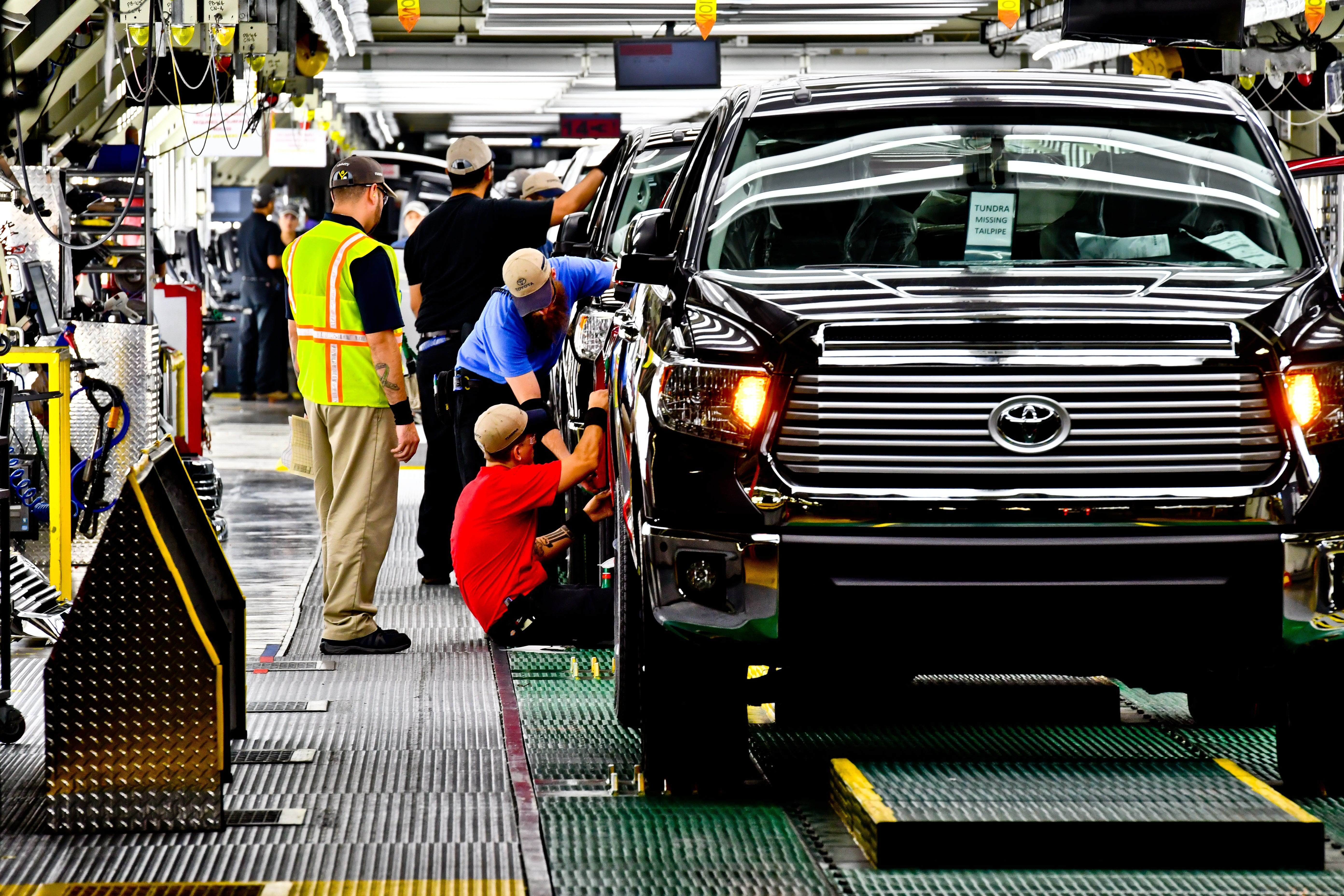 A Tour Of The Toyota Motor Manufacturing Texas Plant In