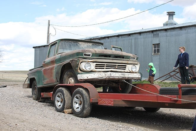 Project 1962 Chevy C10 Swede Update - Bringing Him Home and First Wash
