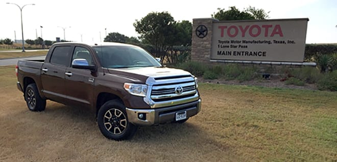Tour of the Toyota Motor Manufacturing Texas Plant in San Antonio, Texas