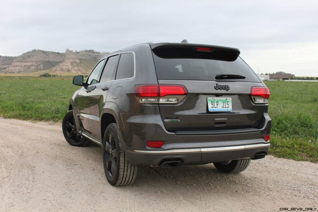 Review: 2016 Jeep Grand Cherokee Overland with 3.0L EcoDiesel Engine