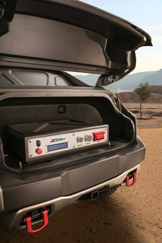 Extreme-Edition Chevrolet Colorado ZH2 Fuel Cell Is Ready For Action