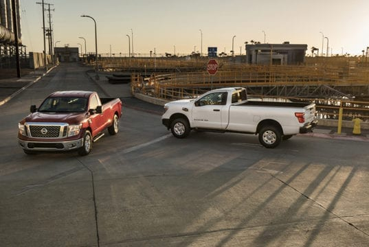 2017 Nissan Titan Single Cab Priced - Starts at $30,775