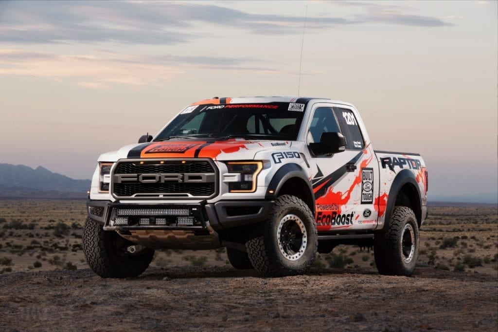 2017 Ford F-150 Raptor Finishes Baja 1000 Then Drives Home