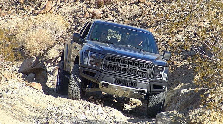 First Drive: 2017 Ford F-150 Raptor Off-Roading in California