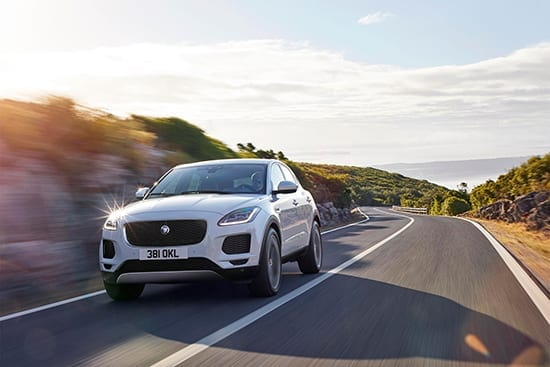 2018 Jaguar E-Pace Recording-Breaking Barrel Roll