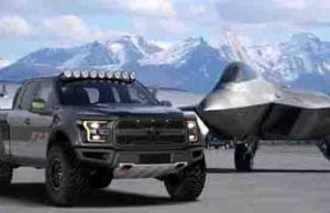 Fighter Jet Inspired F-22 Raptor Auctioned Off - 2017 Ford Raptor Base