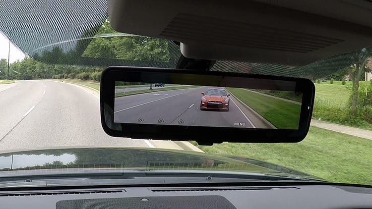 Nissan Introduces Intelligent Rear View Mirror Feature