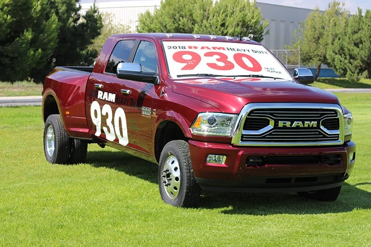 2018 Ram 3500 Smashes Competition with 930 lb-ft torque, highest 5th wheel hitch towing