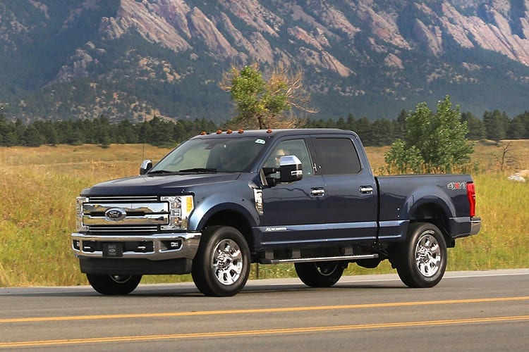 Recall: 2015-17 Ford F-150, 2017 Ford F-250, 2017 Ford F-350 Left Rear Seat Belt
