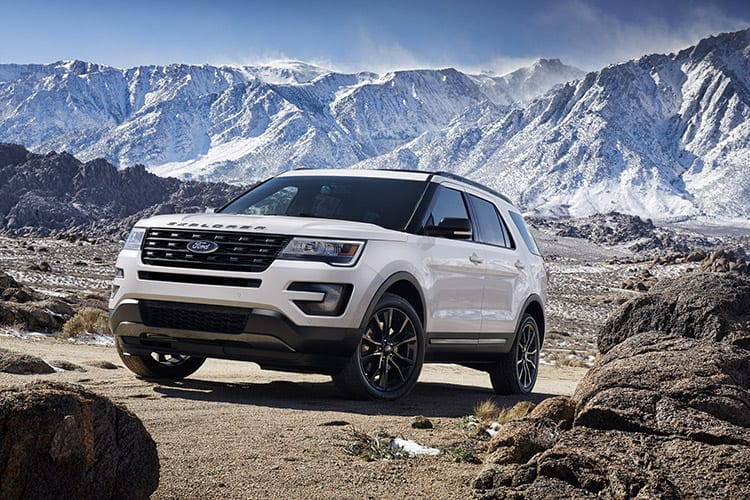 Recall 2017 Ford Explorer Steering
