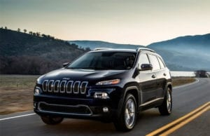 Recall: 2017-2018 Jeep Cherokee Incorrect Tire and Rim Size Information