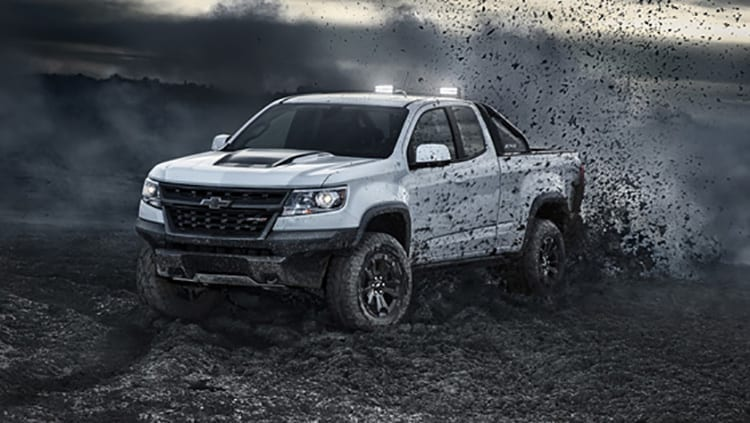 2018 Chevrolet Colorado ZR2 Midnight and Dusk Pickups Unveiled