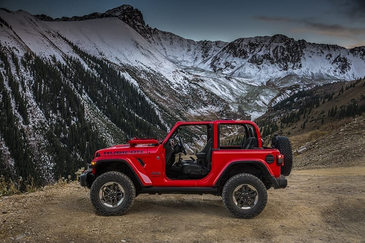 Next Gen 2018 Jeep Wrangler Exterior Styling Unveiled