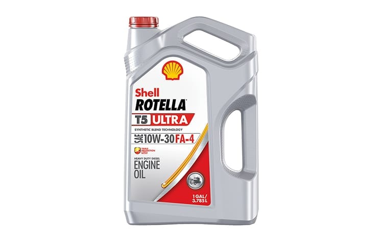 Shell ROTELLA T5 Ultra 10W-30 Approved for Ford Diesel Engines
