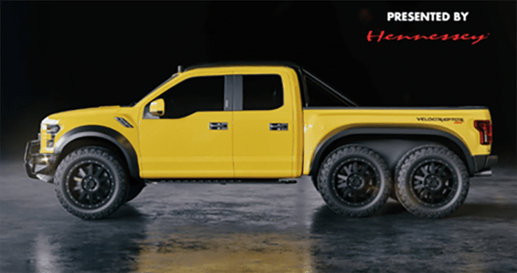 Hennessey Plans VelociRaptor 6x6 Reveal at 2017 SEMA Show