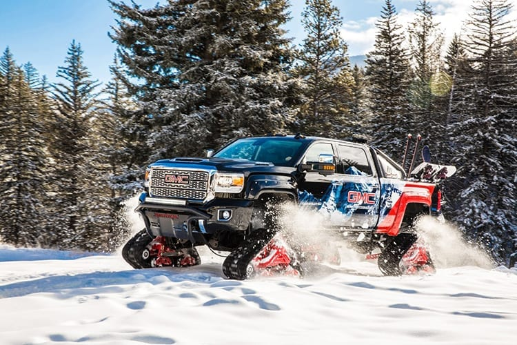 2018 GMC Sierra All Mountain Concept Ready For Snowcalypse