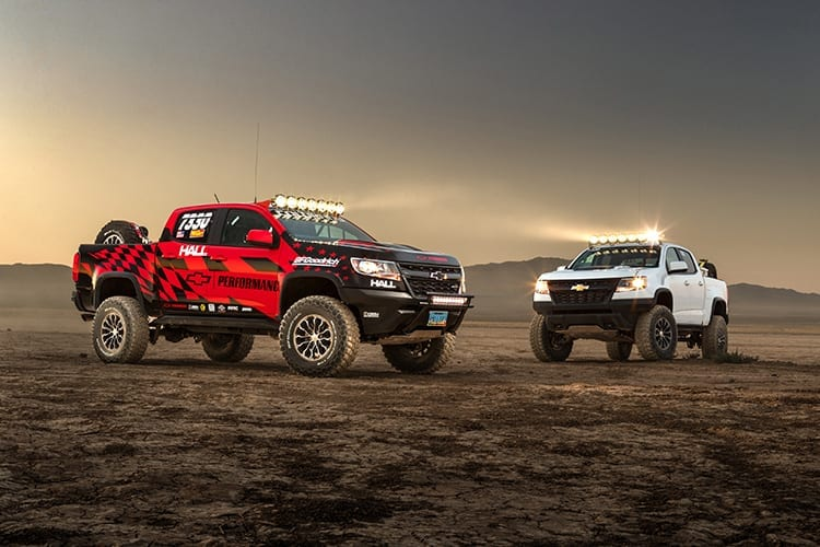 Chevrolet Colorado ZR2 Race Truck Unveiled at 2017 SEMA