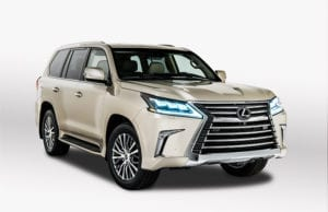 2018 Lexus LX 570 Two Row SUV Unveiled