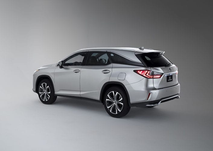 2018 Lexus RX 350l and 450hl Unveiled - Now Three Rows in Mid-Size SUV