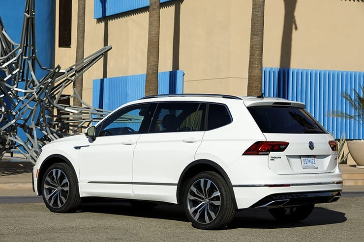 2018 VW Tiguan Receives R-Line Package