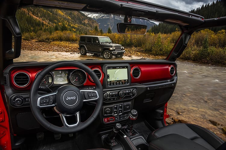 2018 Jeep Wrangler Interior Photos Revealed Pickup Truck Suv Talk