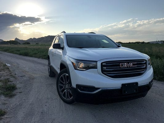 review 2017 gmc acadia slt all terrain offers value over denali pickup truck suv talk. Black Bedroom Furniture Sets. Home Design Ideas