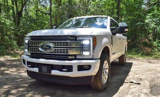 Review 2017 Ford F 250 6 7l Platinum With Video