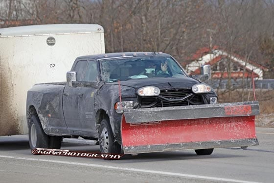 SPIED! 2020 Ram 2500/3500 HD Trucks With Snow Plows - Pickup Truck +SUV Talk