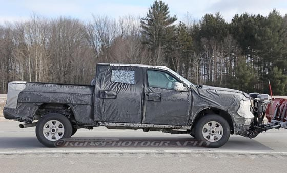 SPIED! 2020 Ram 2500/3500 HD Trucks With Snow Plows ...