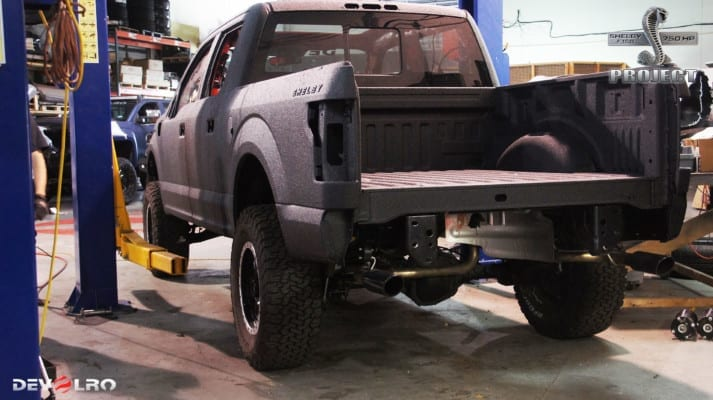 DEVOLRO Custom Shelby F-150 Adds Lift, Mods, Keeps 750 HP Performance