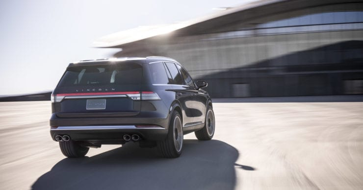 2020 Lincoln Aviator Debuts at 2018 New York Auto Show