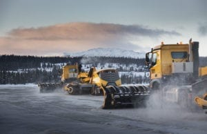 Self-Driving Snow Plows Clear Norway Airport Runway - Project Yeti