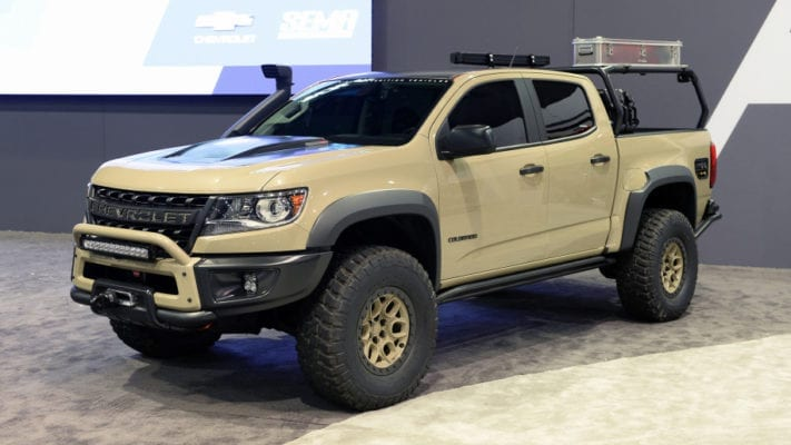 rumor chevrolet colorado zr2 bison heading to production yeeeeehaaaaaaa. Black Bedroom Furniture Sets. Home Design Ideas