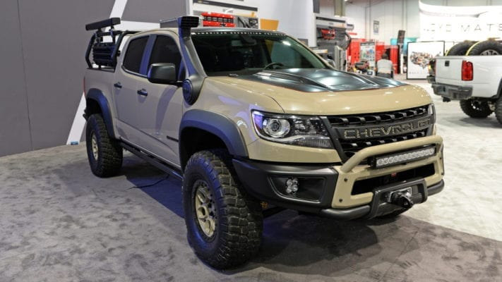 Rumor Chevrolet Colorado Zr2 Bison Heading To Production