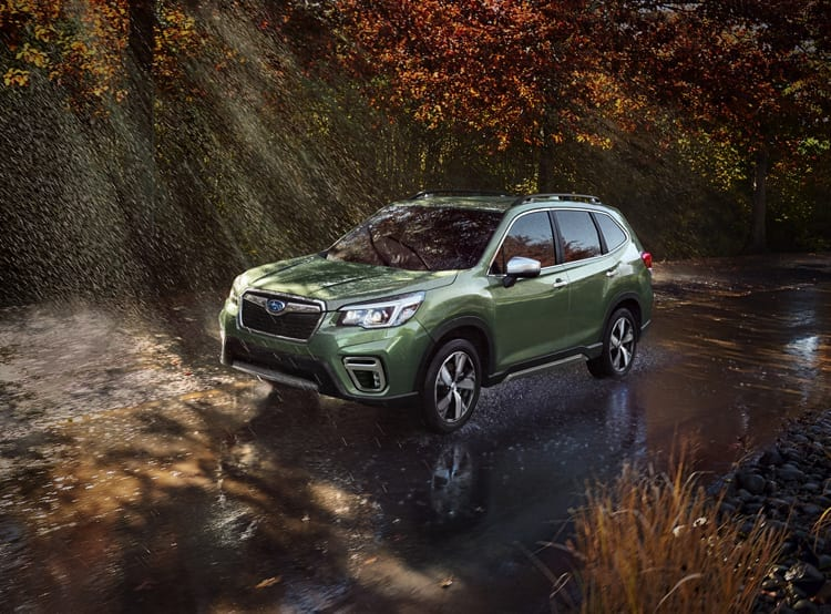 2019 Subaru Forester Longer More Space New Technology