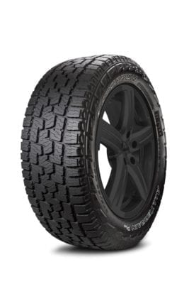 Pirelli Launches New All-Terrain Tire for Pickup Trucks and SUVs