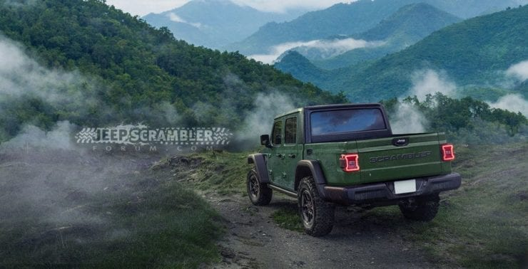 New Jeep Wrangler Scrambler Pickup - What to Expect